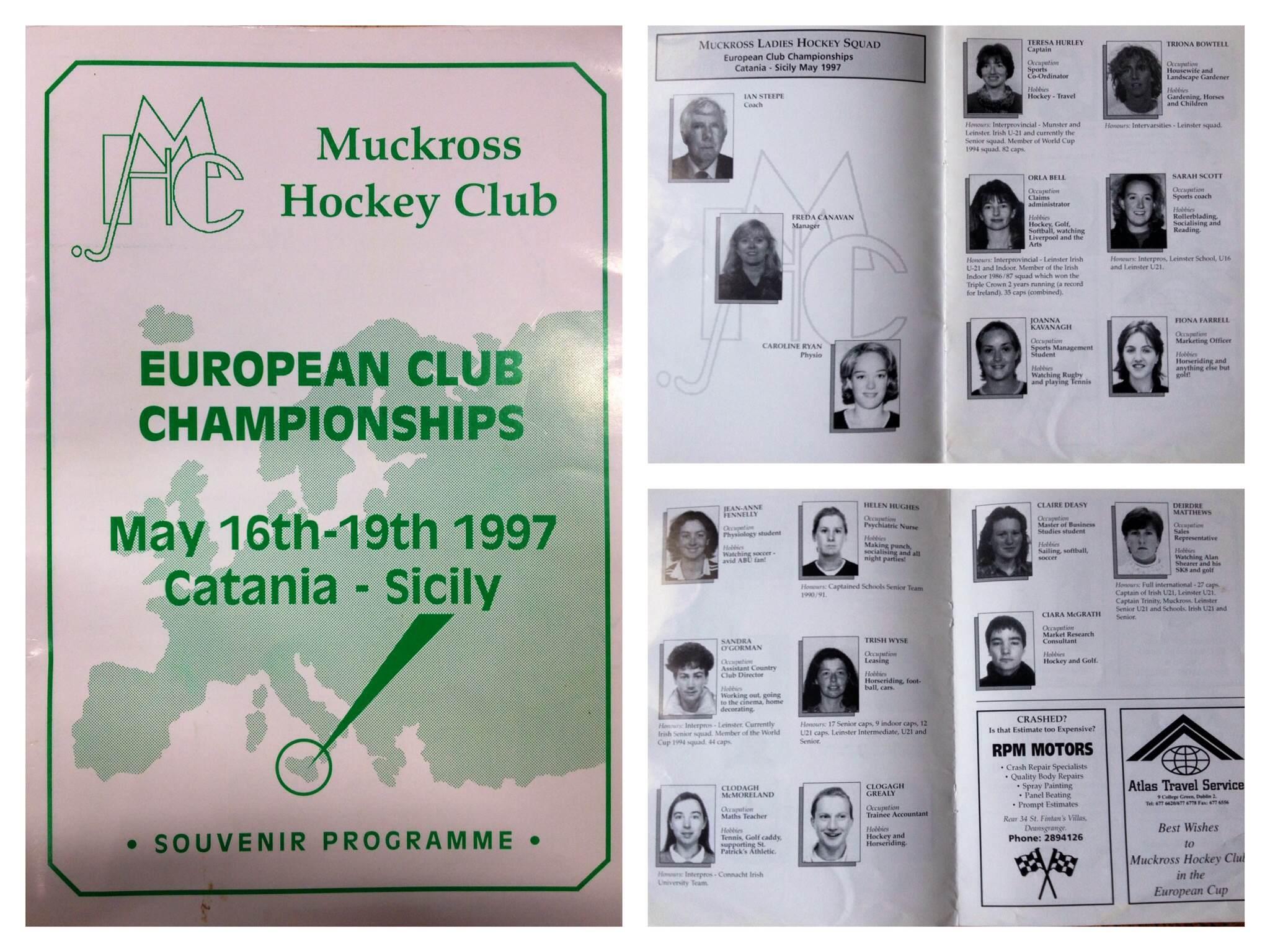 MHC Euro ClubProgramme